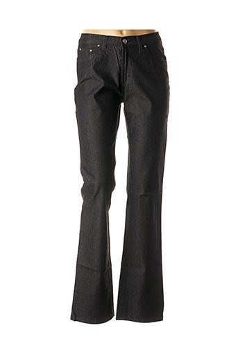 Jeans coupe droite noir TRUSSARDI JEANS pour femme