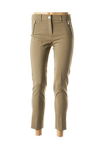 Pantalon 7/8 vert ABSOLU pour femme