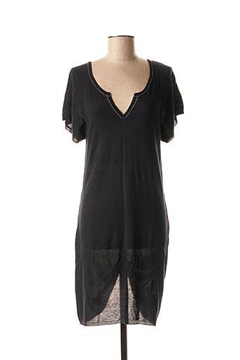 Robe pull noir ASC AUTRE CHOSE pour femme