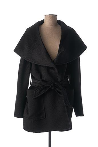 Manteau court noir CINZIA ROCCA pour femme