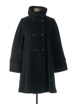Manteau long noir MARELLA pour femme