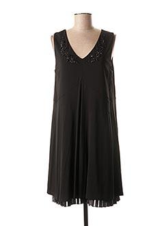 Robe mi-longue noir MAXMARA pour femme