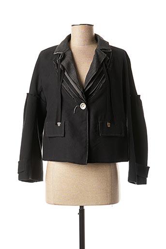Veste casual noir MARITHE & FRANCOIS GIRBAUD pour femme