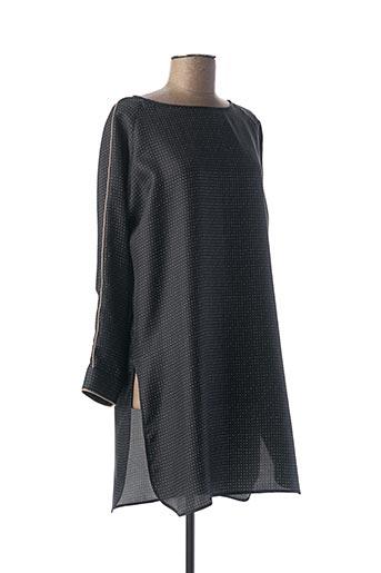 Tunique manches longues noir MAXMARA pour femme