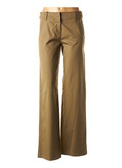 Pantalon casual vert MAXMARA pour femme