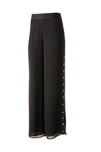 Pantalon chic noir EDWARD ACHOUR pour femme