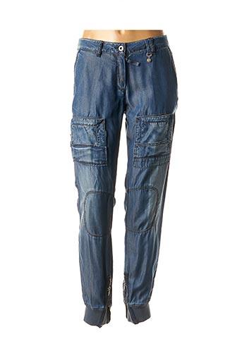 Pantalon casual bleu AERONAUTICA pour femme