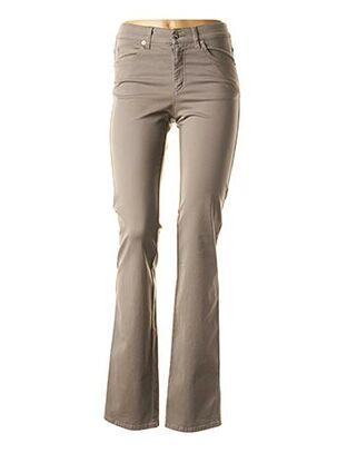 Pantalon casual gris ARMANI pour femme
