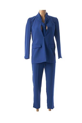 Veste/pantalon bleu I BLUES pour femme