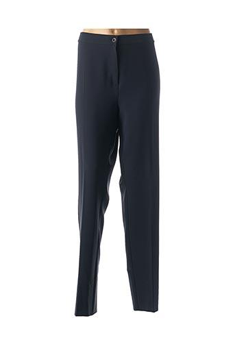 Pantalon chic bleu MARINA RINALDI pour femme