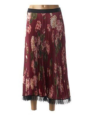Jupe longue rouge TWINSET pour femme