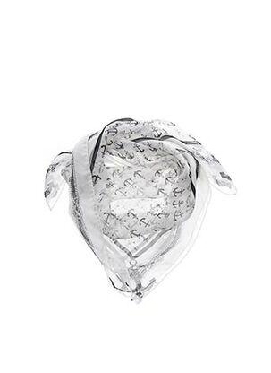 Foulard gris MAXMARA pour femme