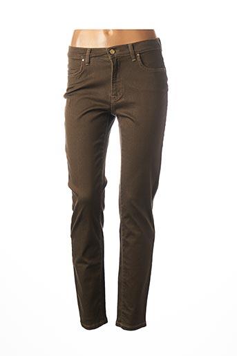 Jeans skinny marron TRUSSARDI JEANS pour femme
