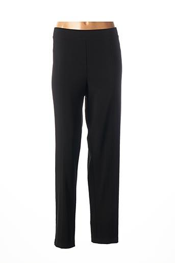 Pantalon casual noir FRANK LYMAN pour femme