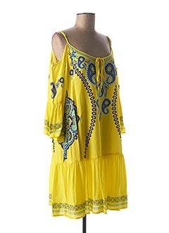 Tunique manches courtes jaune SPORTALM pour femme