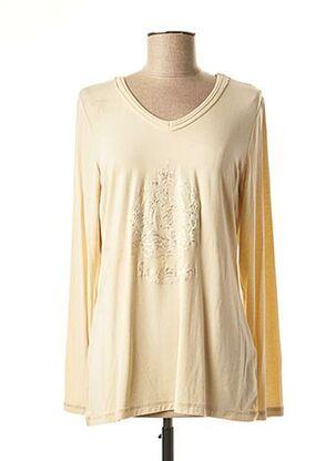 T-shirt manches longues beige SPORTALM pour femme