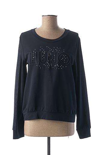 Sweat-shirt bleu LIU JO pour femme