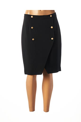 Jupe mi-longue noir CRISTINA BARROS pour femme