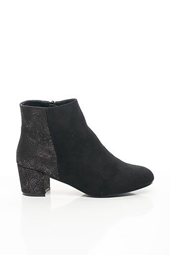 Bottines/Boots noir FOREVER FOLIE pour femme