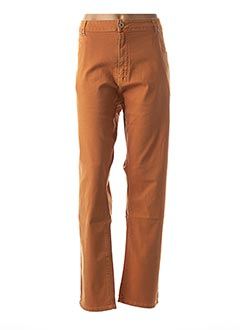 Pantalon casual orange NANA BELLE pour femme