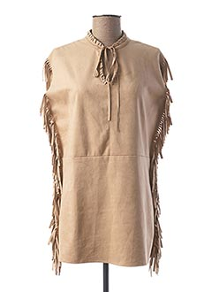 Top beige SOFTY pour femme