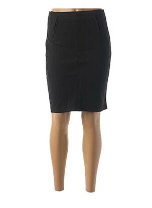 Jupe mi-longue noir ARC EN CIEL pour femme