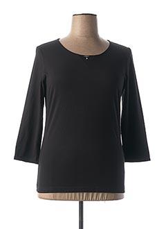 T-shirt manches longues noir AIRFIELD pour femme