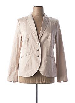 Veste casual beige AIRFIELD pour femme