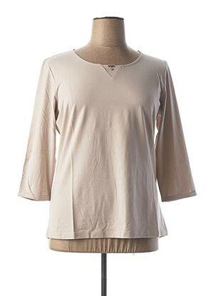 T-shirt manches longues beige AIRFIELD pour femme