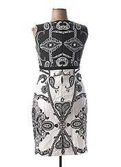 Robe mi-longue blanc ANGELO MARANI pour femme seconde vue