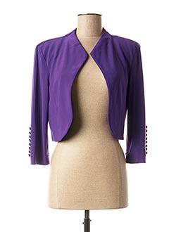 Veste chic / Blazer violet JOSEPH RIBKOFF pour femme