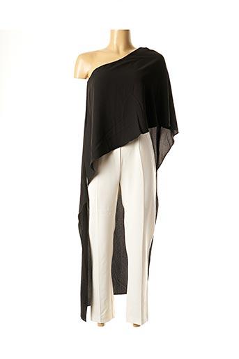 Combi-pantalon noir ETXART&PANNO pour femme