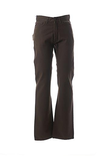 Pantalon casual marron CERRUTI 1881 pour femme