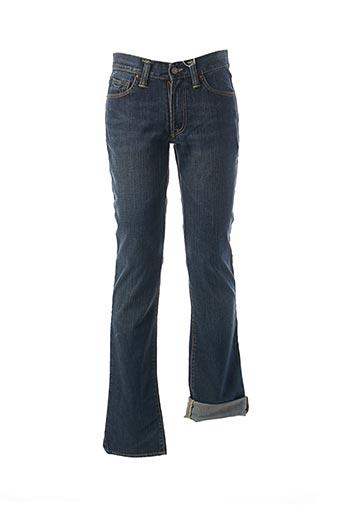 Pantalon casual bleu EDWIN pour homme