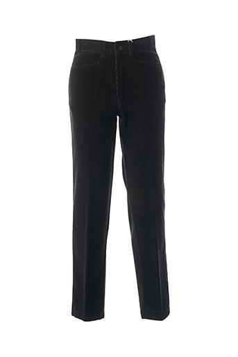 Pantalon casual noir STONES pour homme