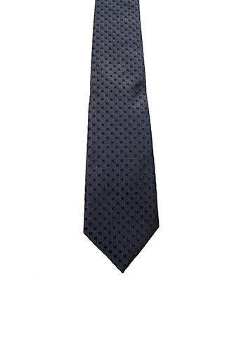 Cravate gris JEAN DE SEY pour femme