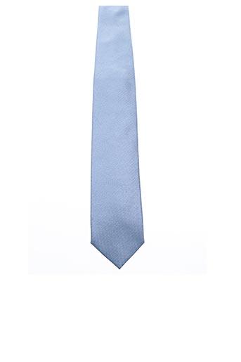 Cravate bleu KARL LAGERFELD pour homme