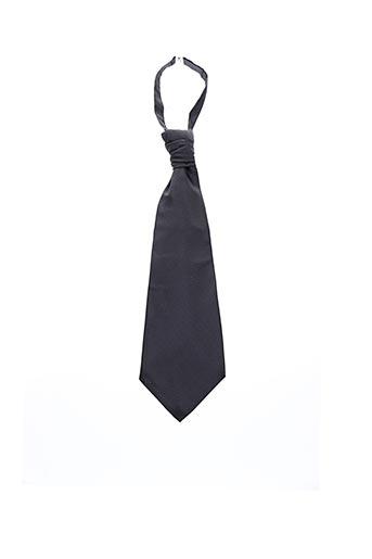 Cravate gris BM pour homme