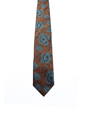 Cravate marron KENZO pour homme