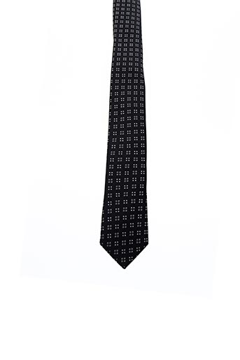 Cravate noir BILLTORNADE pour homme
