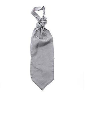 Cravate gris ALTA ROCCA pour homme