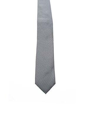 Cravate gris KARL LAGERFELD pour homme