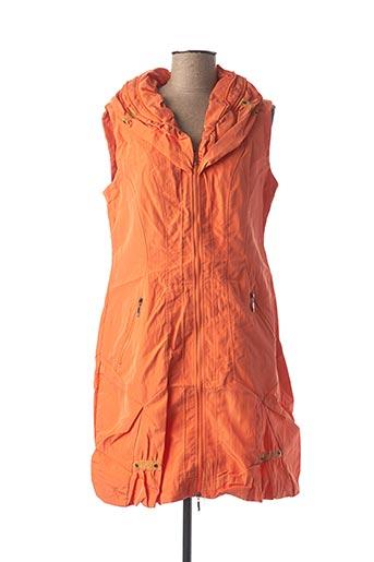 Veste casual orange FRANSTYLE pour femme