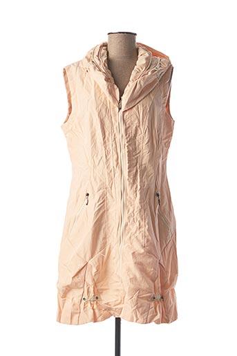 Veste casual rose FRANSTYLE pour femme