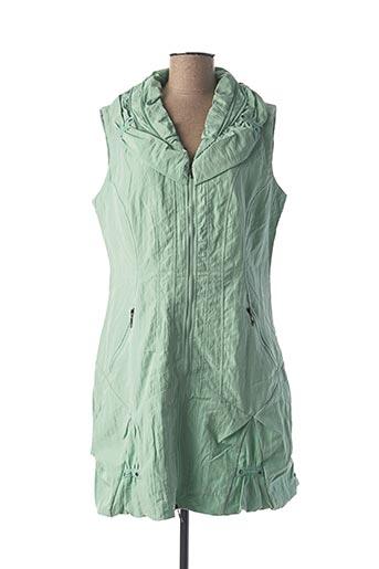 Veste casual vert FRANSTYLE pour femme