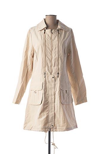 Veste casual beige FRANSTYLE pour femme