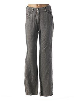 Pantalon casual gris JENSEN pour femme