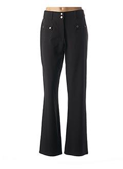 Pantalon casual noir JENSEN pour femme