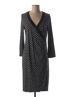 Robe mi-longue bleu MYTI pour femme