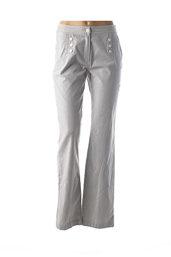 Pantalon casual bleu BLEU DE SYM pour femme